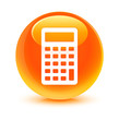 Calculator Orange Button