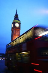 Londra, bus è Big Ben