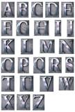 Typescript alphabet upper-case poster