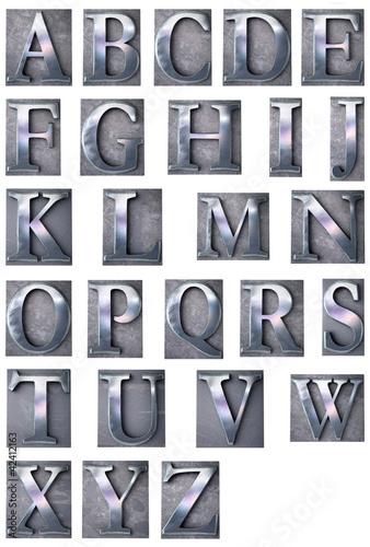 Typescript alphabet upper-case
