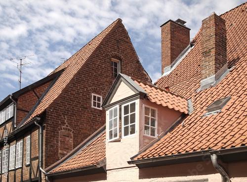 Dachlandschaft in Lübeck