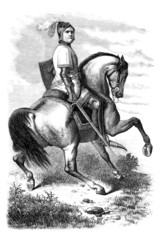 Hero - Equestrian - 14th century
