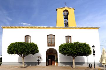 Santa Getrudis, Kirche, Ibiza, Spanien