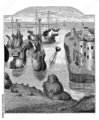 War Ships - 14th century