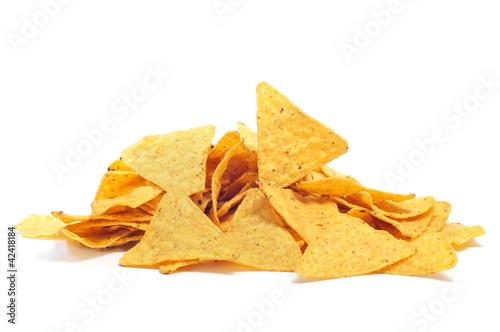 Deurstickers Klaar gerecht nachos