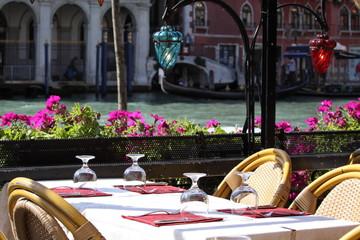 ristorante sul Canal Grande, Venezia