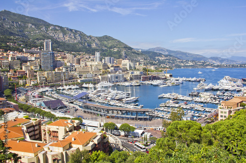 Monaco during the Formula One period