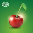 100 percent fresh cherry
