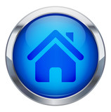 Metalic home icon