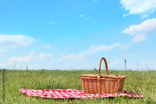 Tuinposter Picknick Picnic