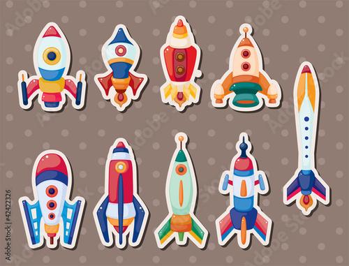 rocket stickers