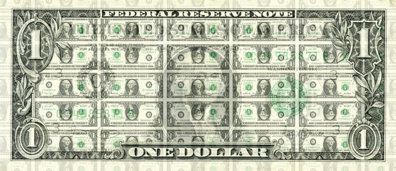 Collage one dollar
