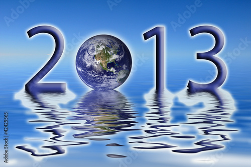 2013, planète Terre et reflets