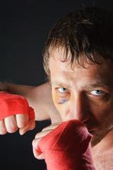 Fighter portrait.