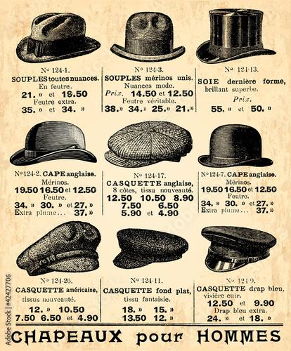 Chapeaux pour Hommes