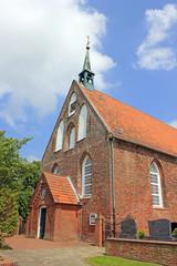 Kirche in Manslagt (Ostfriesland, Niedersachsen)