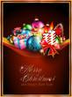 Merry Christmas Elegant Suggestive Background