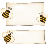 Bee Card - Set etichette con Api - Place your text