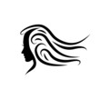 Logo beauty hair # Vector