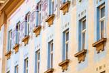 Secession building in Zagreb poster