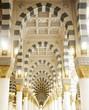 Makkah Kaaba mosque indoors pillars decoration