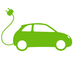 Elektroauto Illustration
