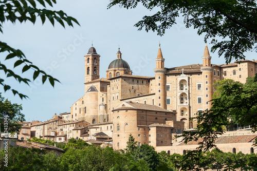 Ancient castle of the Duke of Urbino, Italy, Urbino.