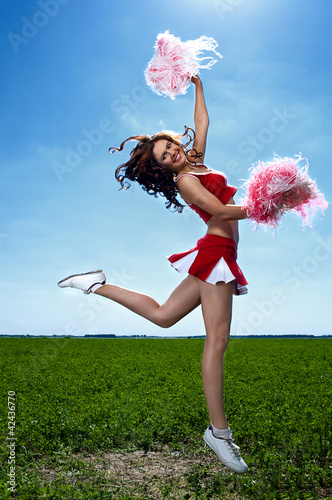 beauty cheerleader