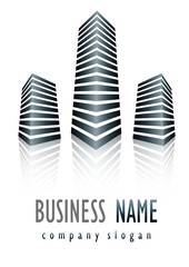 Business logo power scraper design
