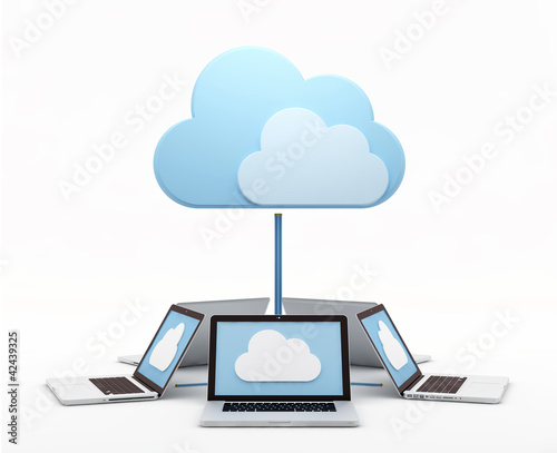 Cloud computing, laptops