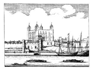 London Tower - 17th century