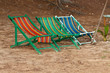 Beach chair .