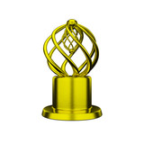 Gold trophy award conceptual design