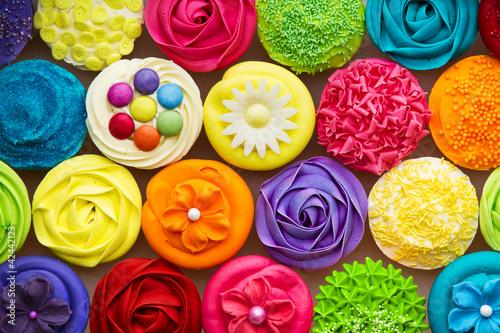 Zdjęcia na płótnie, fototapety na wymiar, obrazy na ścianę : Cupcakes