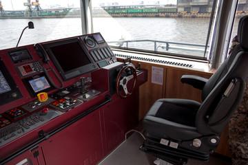 warship command bridge