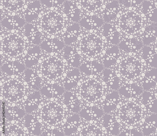 seamless floral lacy pattern background