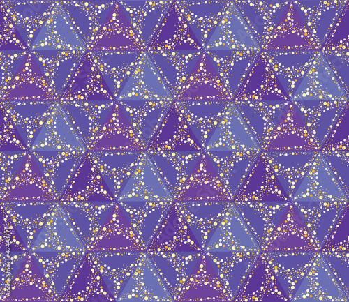 seamless  starry sky pattern background