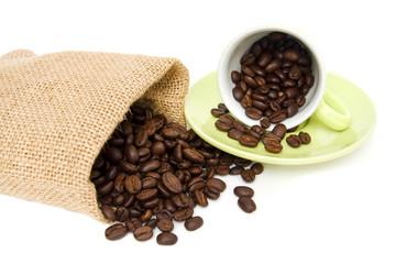Kaffee mit Tasse