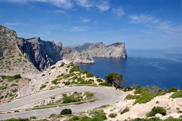 Formentor headland