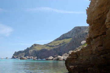 Bay and Headland at Cala Figuera