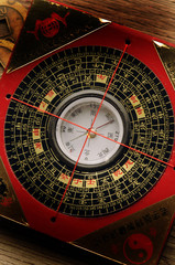 羅庚 Luopan 羅盤 Китайский компас Kompas geomantyczny