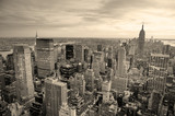New York City sunset - Fine Art prints