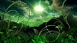 Nature Dream Landscape Scenic Space Animation
