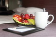 Hotelroom and fruits