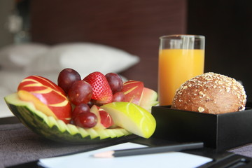 Healthy VIP amenities