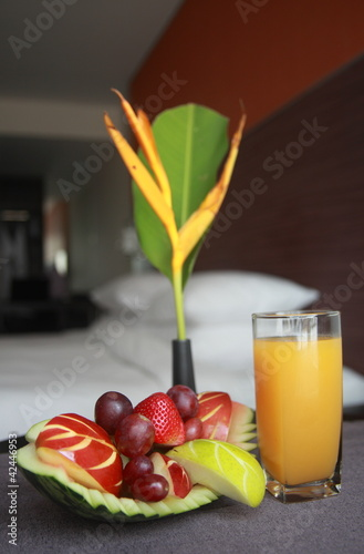 healthy hotel amenities