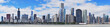 Chicago city urban skyline panorama - 42447101
