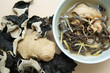 Ginger wine chicken with wood ear fungus