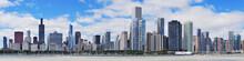 "Постер, картина, фотообои ""Chicago city urban skyline panorama"""