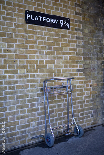 Platform 9 and Three Quarters at Kings Cross Station